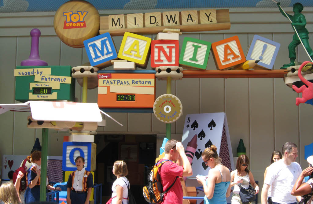 Guests Must Have FastPass+ to Ride Toy Story Mania This Week
