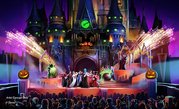New Show at Mickey's Not So Scary Halloween Party